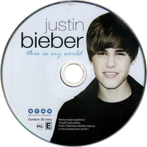 justin bieber - revista + dvd / this is my world