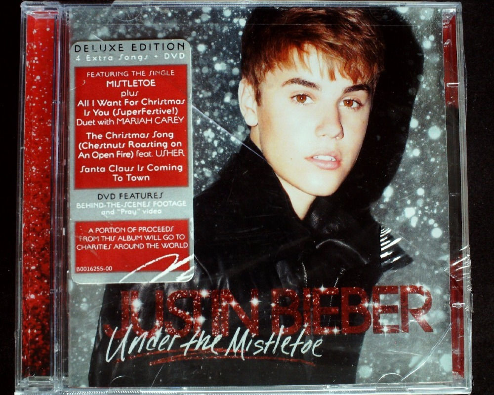 Justin Bieber Under The Mistletoe Cd + Dvd Nuevo Sellados - Bs 150 ...