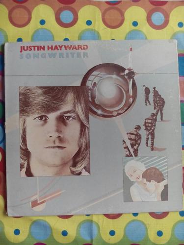 justin hayward lp 1997 usa  songwriter  con incer