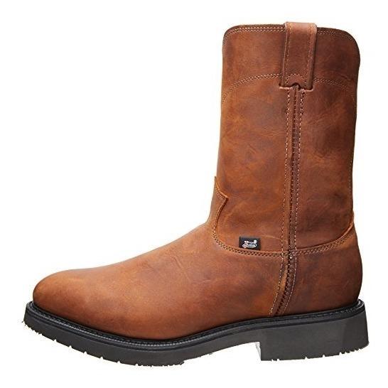 9b14aa24e84 Justin Original Work Boots Men's Double Com Tamaño 7 3e