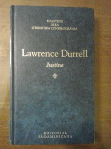 justine lawrance durrell sudamericana