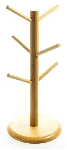 justnile tazas y copas holder - 6 copas del estilo de árbol