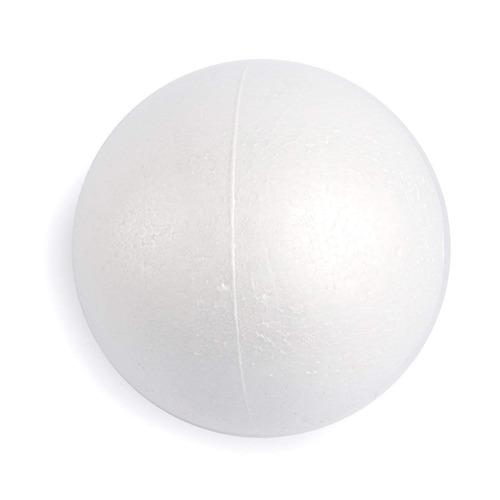 juvale paquete de 2 bolas de espuma para manualidades, blanc