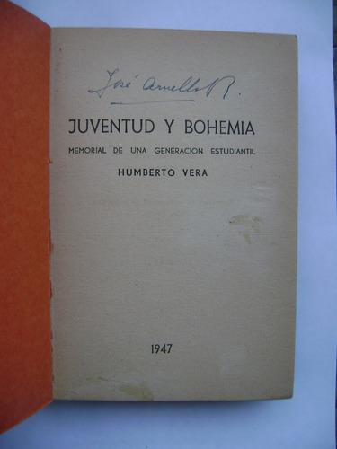juventud y bohemia (memorial de una generación estudiantil)