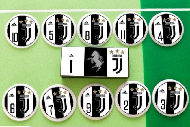 e480a883af3a1 Juventus Itália + Chelsea Futebol De Botão - Estilo Brianezi - R  99 ...
