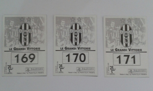 juventus panini copa intercontinental 96-97