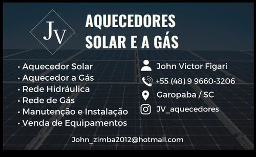 jv aquecedores solar