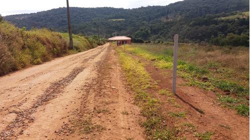 jv garanta o seu terrenos c/água e luz de 1000m2 em ibiúna