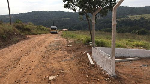 jv lote plano 1000m2 em ibiúna com infraestrutura