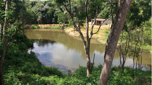 jv sua chácara c/água e luz- por 45000 mil em ibiúna