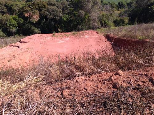 jv terreno 1000m2 p/chácara - água e luz em ibiúna r$42 mil