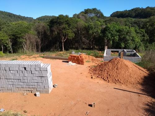 jv terreno 1000m2 plano com água e luz em ibiúna  r$42 mil