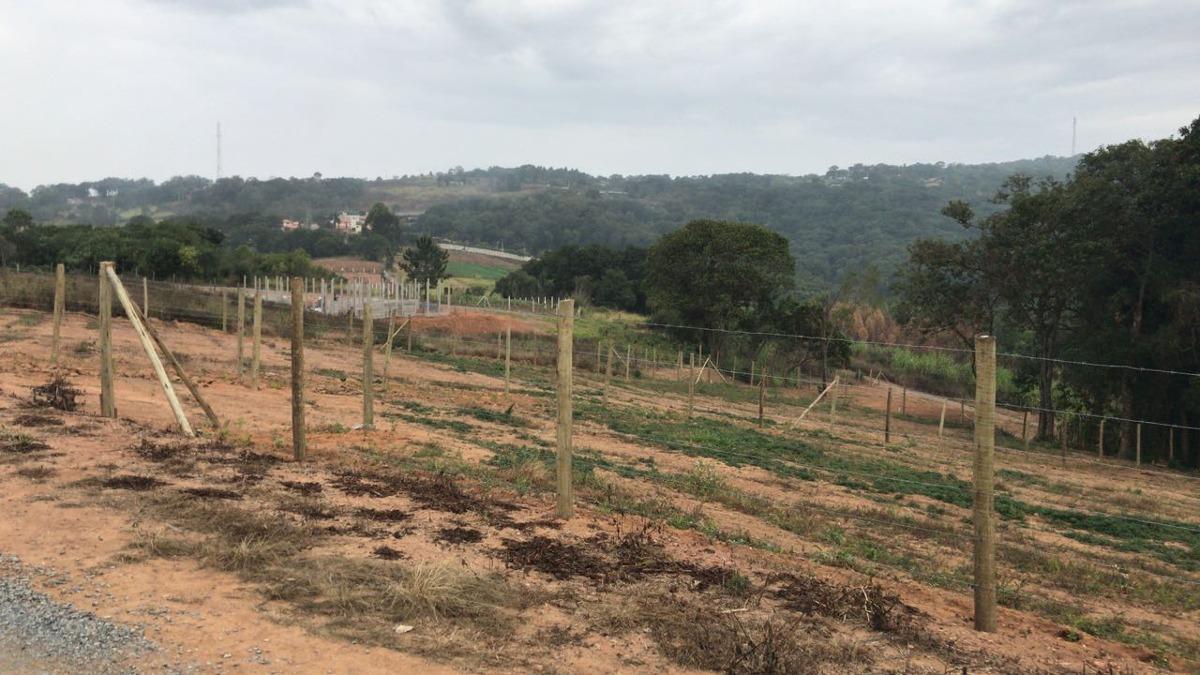 jv terreno 1000m2 po r$45000 mil com água e luz em ibiúna