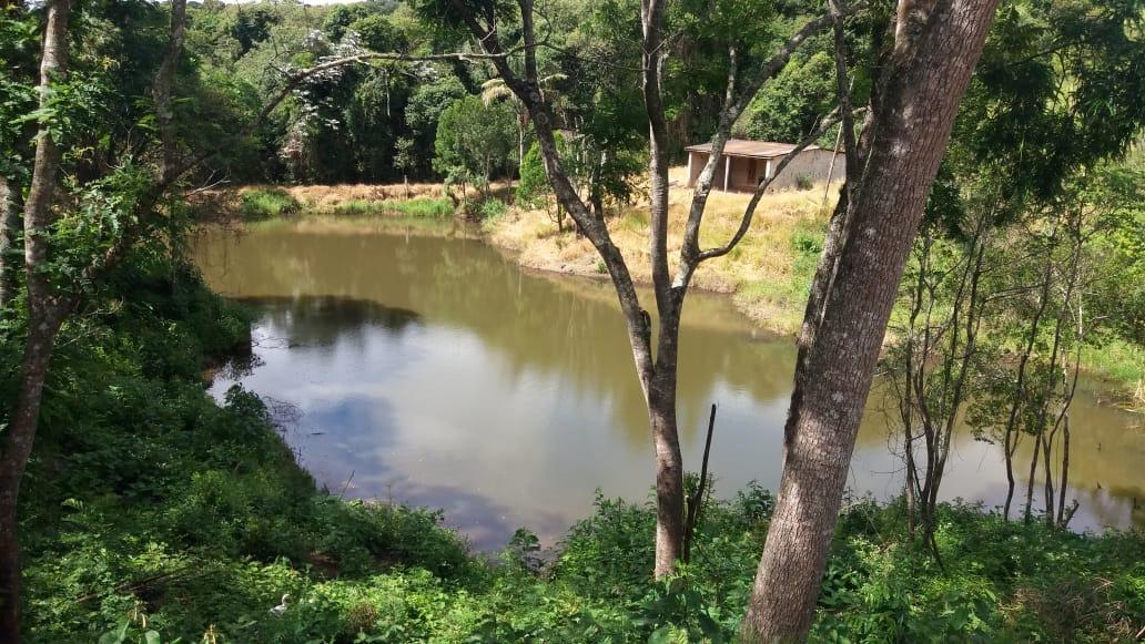 jv terreno c/lago para pesca 1000m2 com água e luz