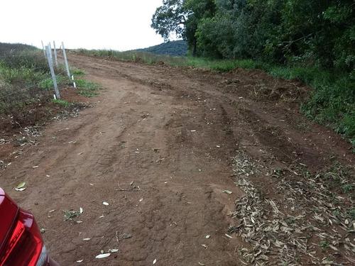 jv terreno para sua chácara c/ lago para pesca r$25000