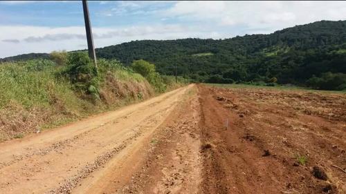 jv terreno plano 1000m2  água e luz em ibiúna- r$43 mil