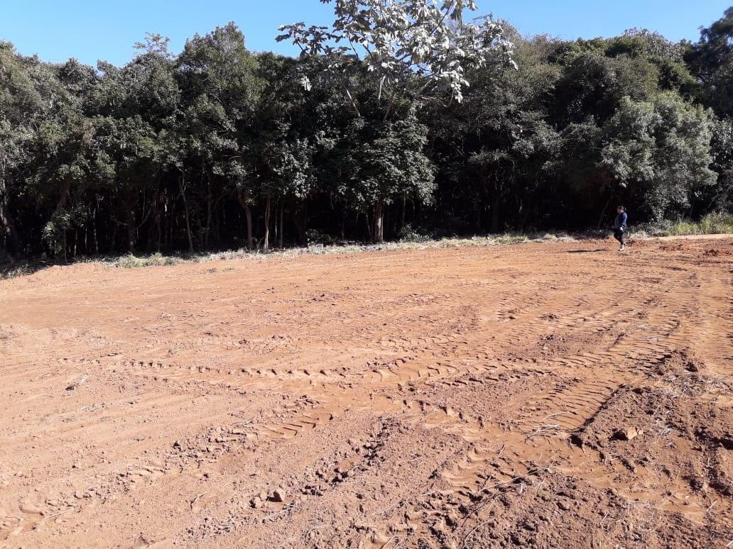 jv terreno plano para sua chácara c/lago para pesca r$25000