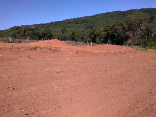 jv terrenos 1000m2 para chácara em ibiúna - com água e luz