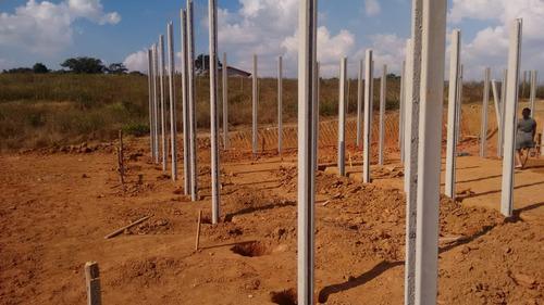 jv terrenos com água e luz de 1000m2 portaria/segurança