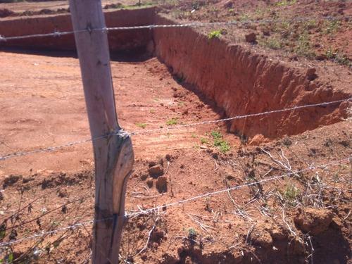 jv  terrenos p/chácara  sem taxa ñ é cond com água e luz