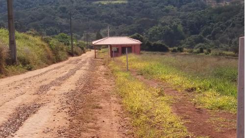 jv terrenos planos- construa sua chácara com água e luz inst