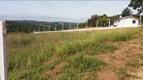 jv terrenos planos em ibiuna - 1000m2 com água e luz