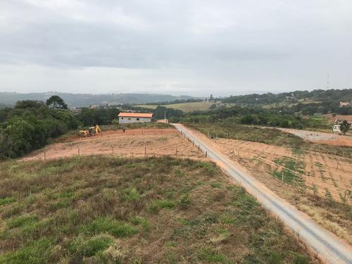 jv terrenos planos p/ chácara de 1000 m2 com água e luz