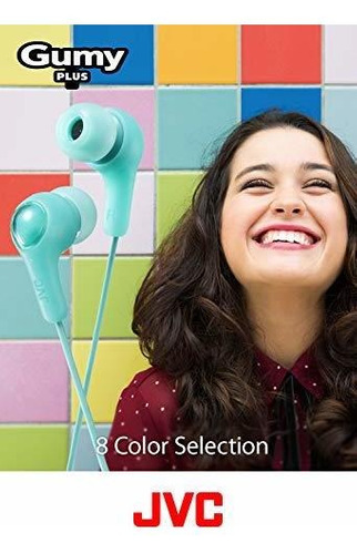 jvc cool y comfortable gumy plus earbuds talla unica