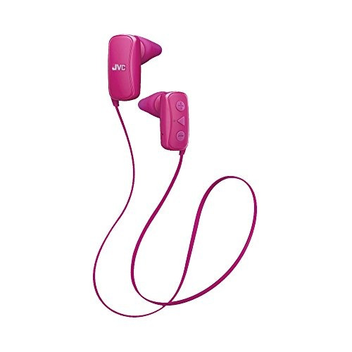 jvc in- oreja auricular , bluetooth , gumy - rosa