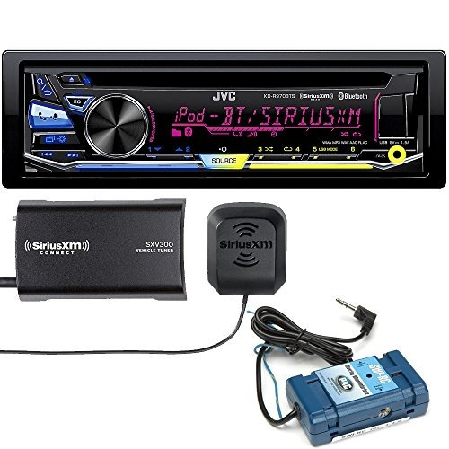 jvc kd-r970bts cd with steering wheel interface and sirius x