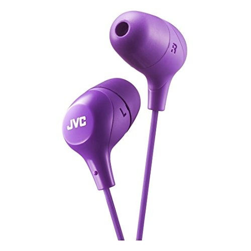jvc marshmallow memory foam earbud violet