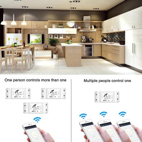 jwcom smart interruptor wifi automação alexa google
