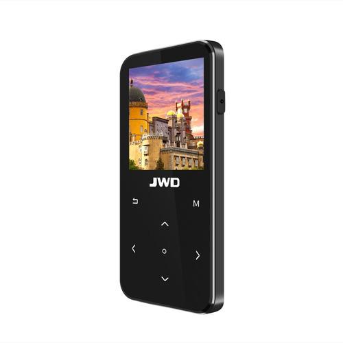 jwd jwm-106 8gb mp3 mp4 reproductor de música bluetooth pérd