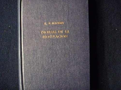 k. b. madsen, teorías de la motivación, paidos, argentina,