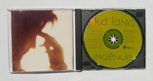 k. d. lang ingenue cd importado 1992