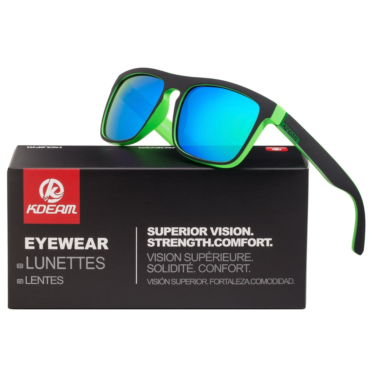 be4f87051a k kdeam gafas de sol cuadradas polarizadas para hombre para. Cargando zoom.