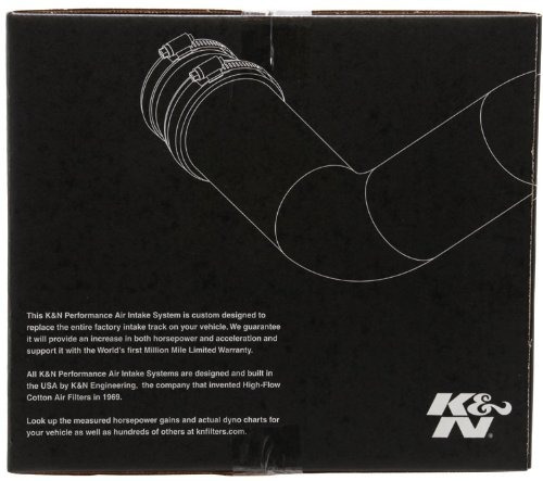 k & n 69-4510ts 69 series silver typhoon performance intake