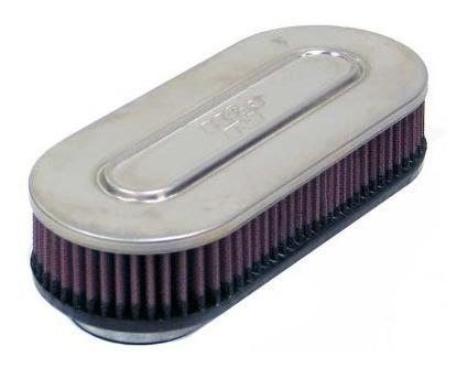 k & n rc -3240 universal clamp- en aire filtro: oval derecho