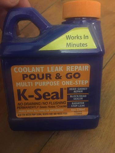 k-seal repara perdidas refrigerante radiador agua 8oz stock