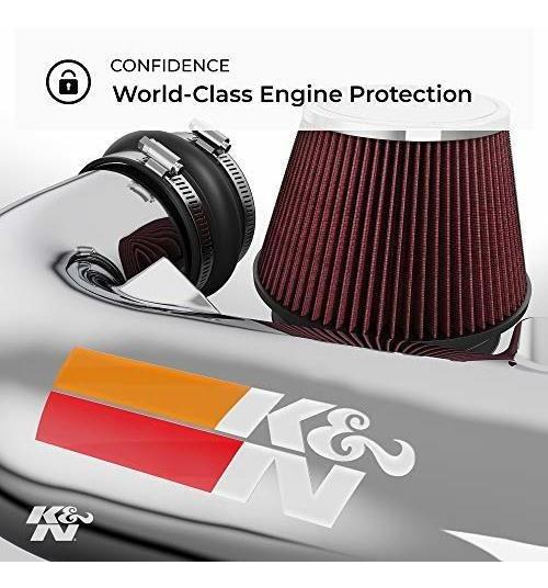 K/&N 69-8432TS Silver Performance Intake Kit