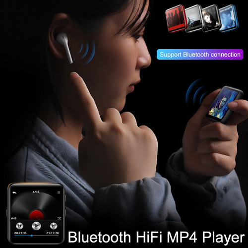 k1 pantalla completa bluetooth mp4 player toucl:plata blueto