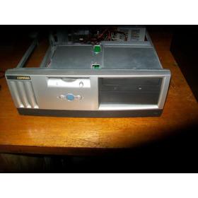 K1178 Gabinete Compaq Horizontal Com Fonte, Drives E Cabos.
