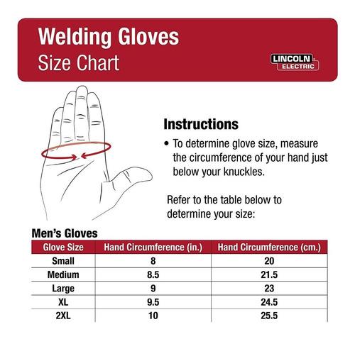 k2982-l guante cuero alta resistencia calor lincoln electric
