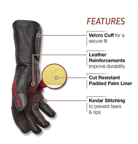 k3109-m guante soldar cuero premiun rolcage lincoln electric
