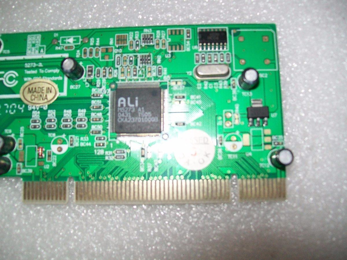 ALI M5273 PCI TO USB DRIVER FOR WINDOWS