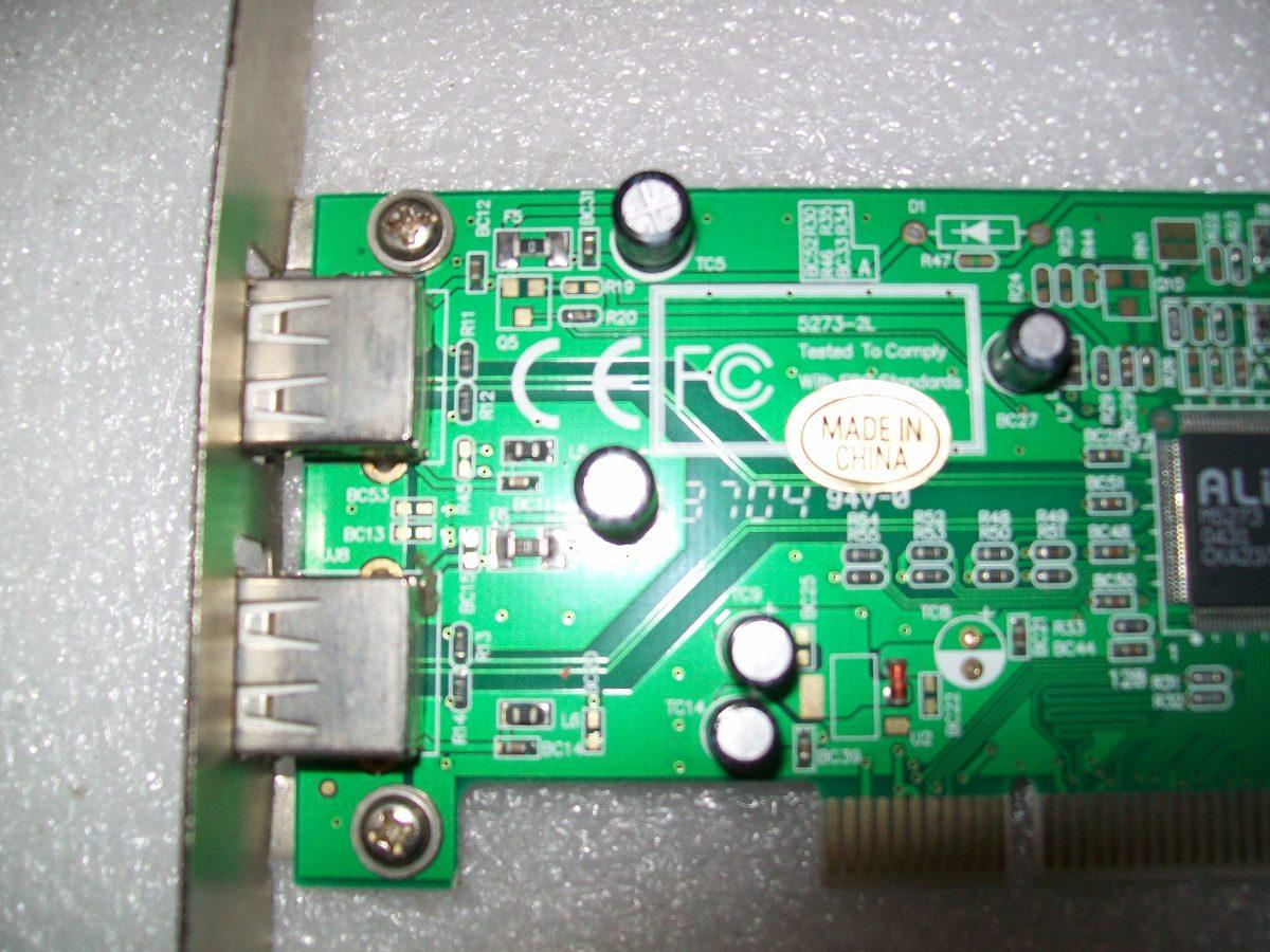 ALI M5273 USB 2.0 TREIBER WINDOWS 10