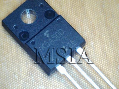k5a50d tk5a50d to220f toshiba novo, original, frete cr msia&