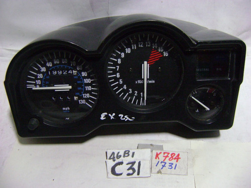 k784 kawasaki ninja 250 tablero
