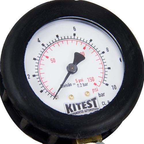 ka-008/5 - teste de pressão de óleo do motor - kitest