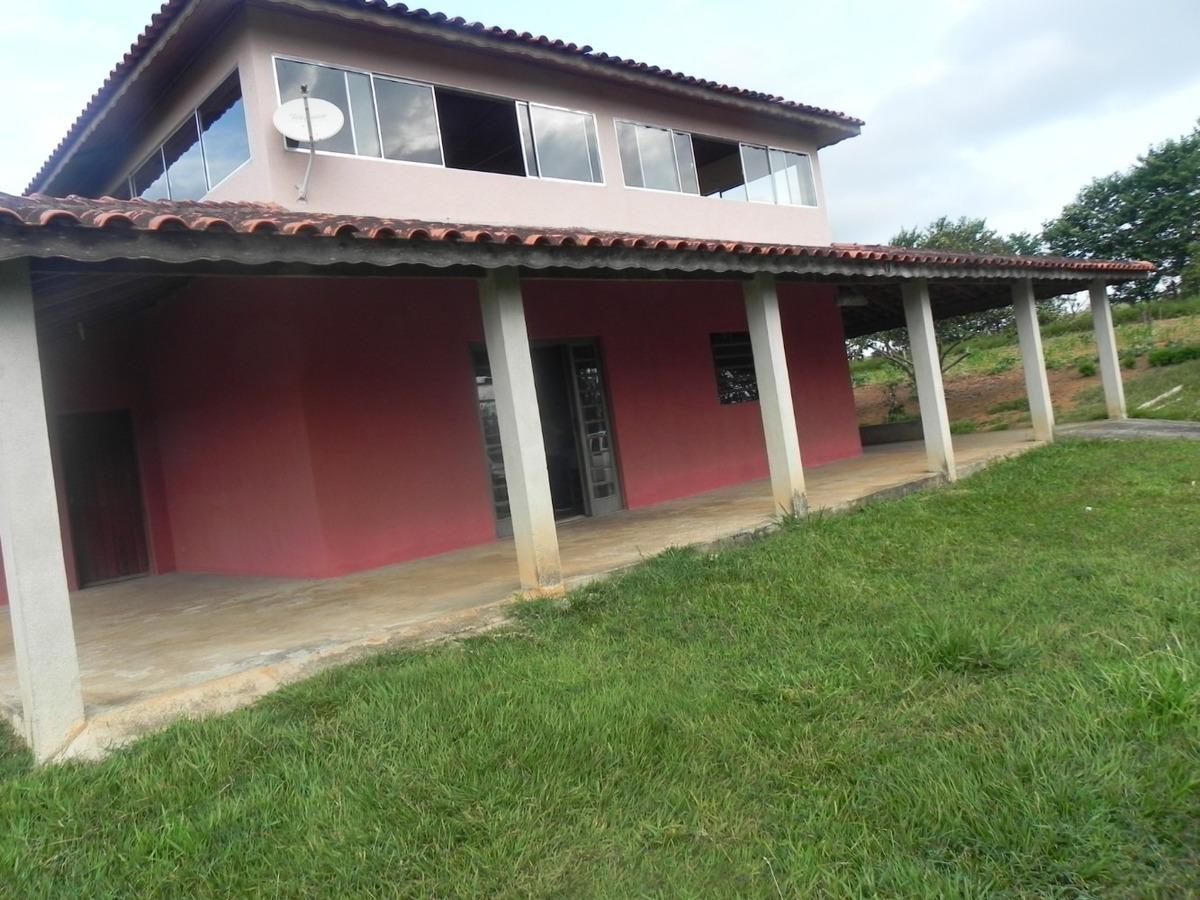 (k.a) chacara com área construída de 300m. com 3 dormitorio